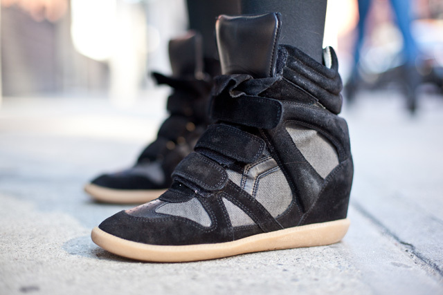 Isabel Marant High top Sneakers – ♡ Pretty Well Dressed