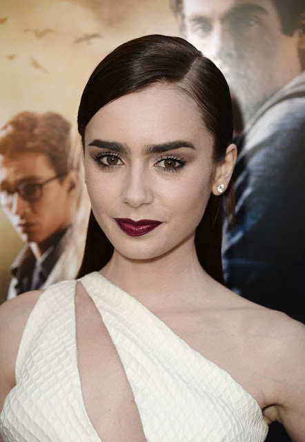 Lily Collins At The Mortal Instruments City Of Bones premiere 01